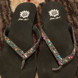 Very rare rock and gem Flipflops!